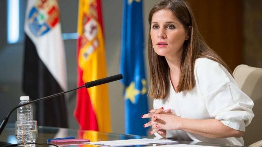 Las portavoz de la Junta, Isabel Gil Rosiña
