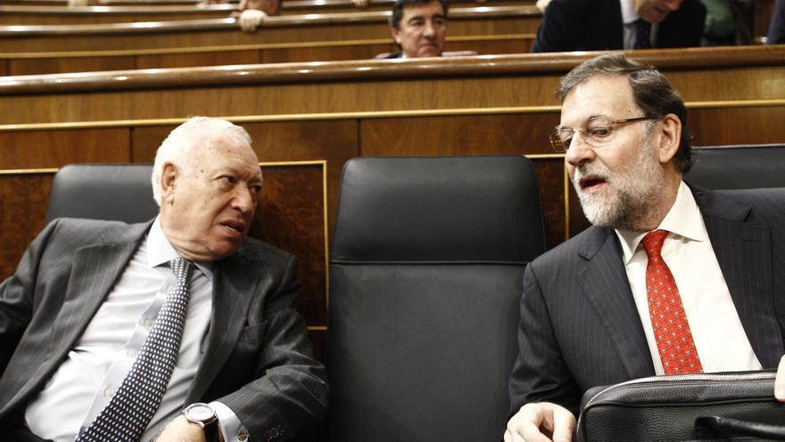 """Margallo defiende la continuidad de Cospedal y Rajoy, que es """"el mejor presidente"""" que se podría tener"""