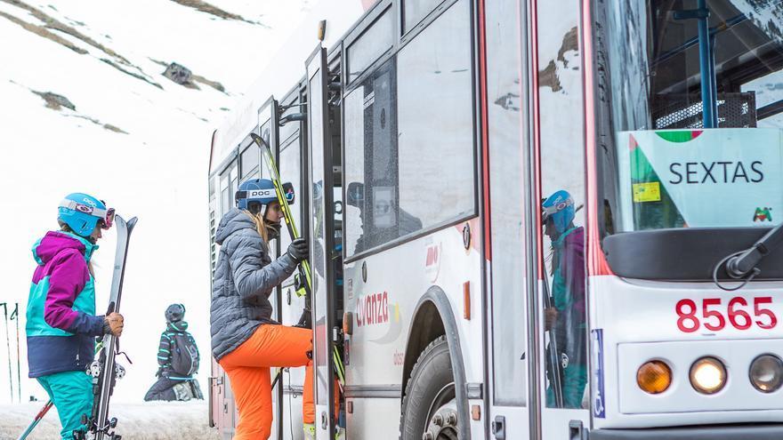 Un autobús gratuito une Formigal y Panticosa