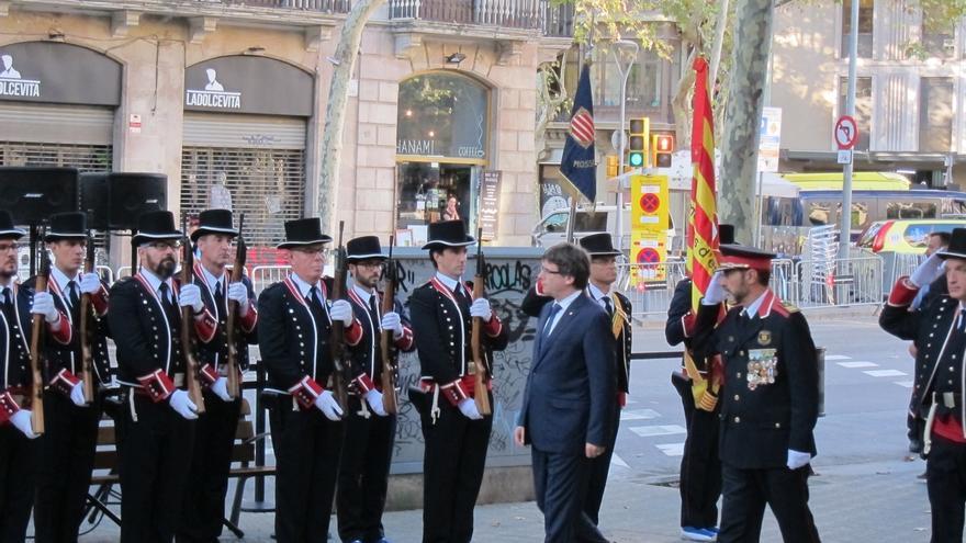 """El Gobierno catalán prevé aún más civismo en la manifestación """"por más provocaciones que haya"""""""