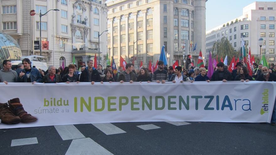 """Arraiz (EH Bildu) rechaza una reforma constitucional y aboga por emprender """"el camino hacia la soberanía vasca"""""""