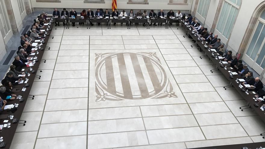 El 'Pacte pel Referèndum' se reúne este martes tras el 'no' de Rajoy al referéndum pactado