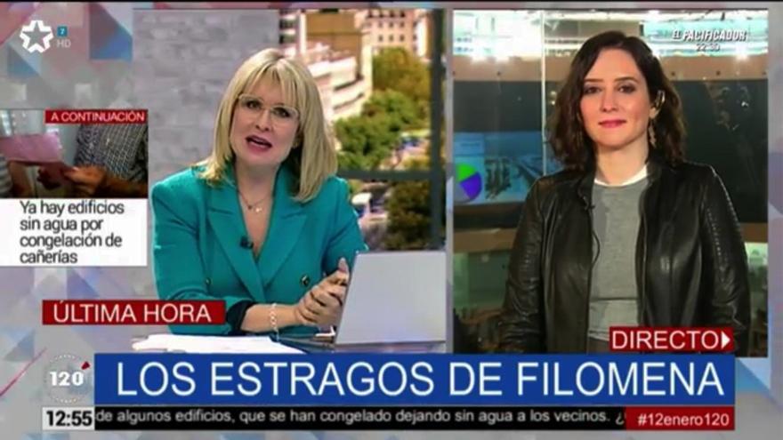 Isabel Díaz Ayuso en '120 minutos'