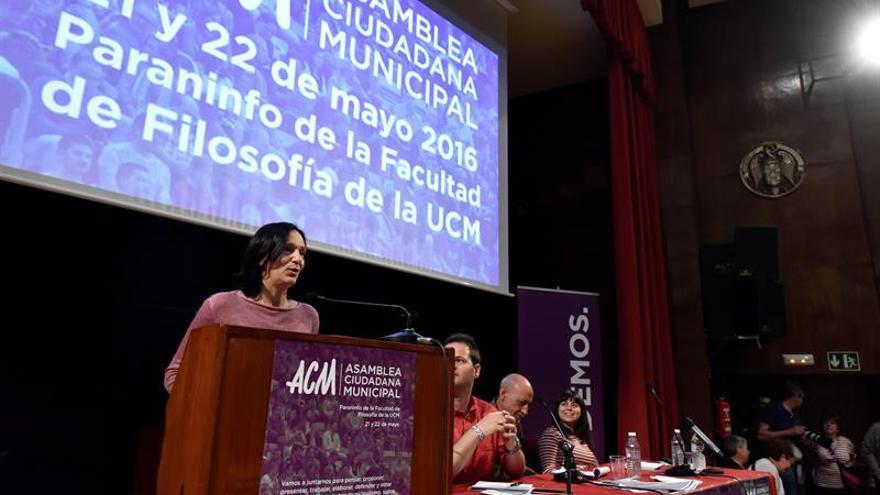 """Bescansa afirma que Podemos tiene que ser """"fiel a su ADN"""" social"""