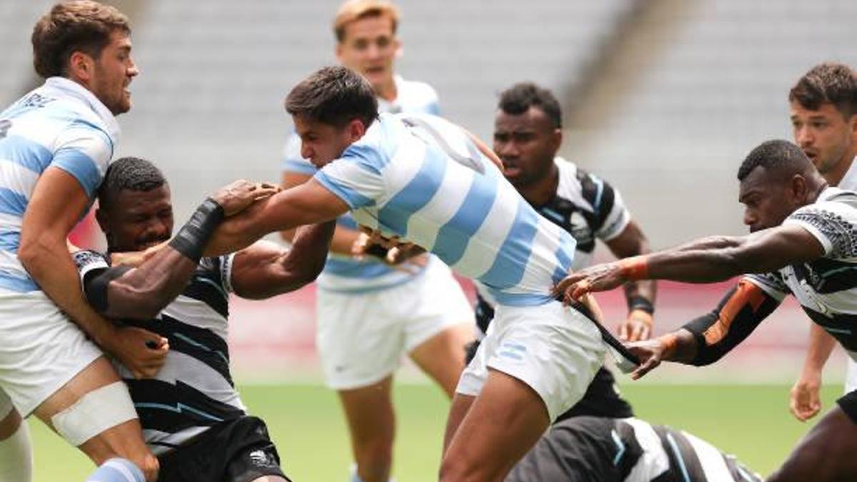 Fiji frenó a Argentina y peleará por la de oro ante Nueva Zelanda.