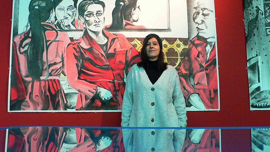 Marta Beltrán, ganadora del III Premio de Dibujo DKV MAKMA