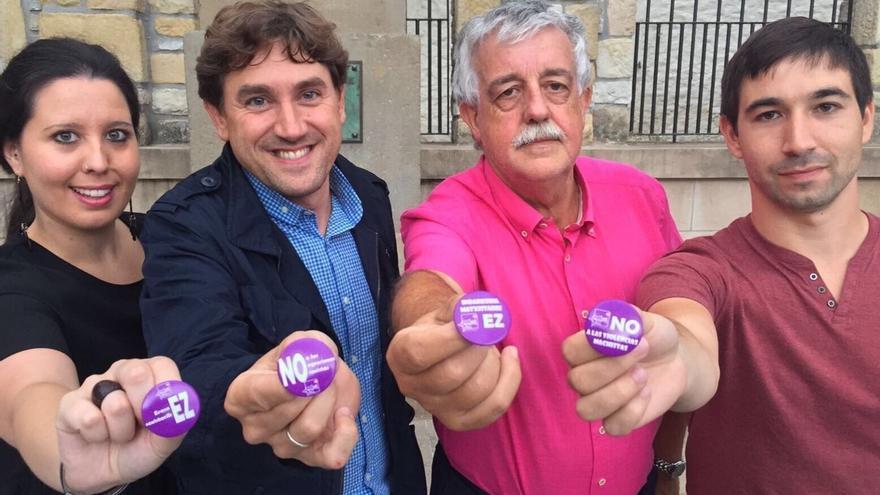 Juventudes Socialistas de Euskadi se movilizan contra las agresiones sexistas en las fiestas de Hondarribia