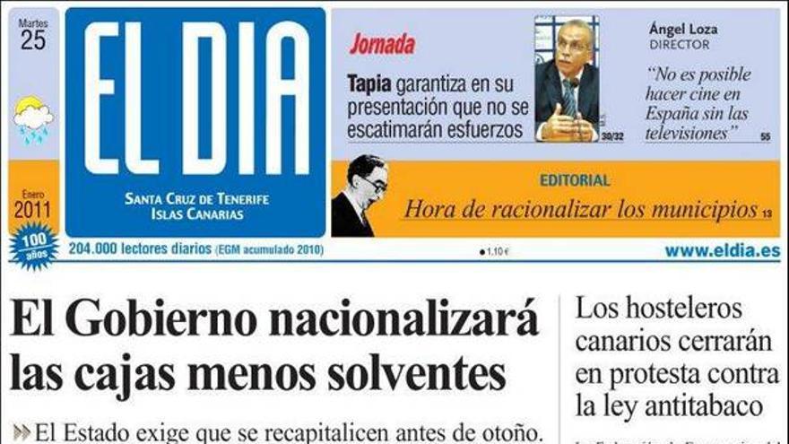De las portadas del día (25/01/11) #4