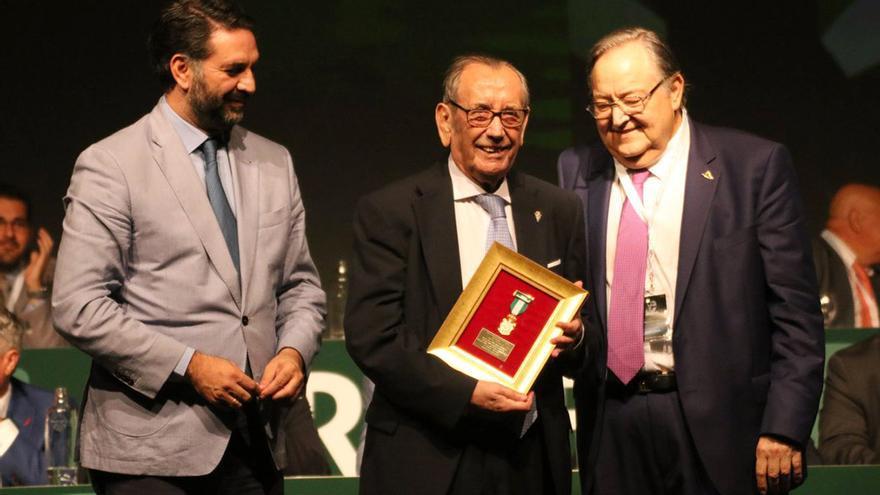 Rafael Campanero, en la gala de la FAF celebrada en Sevilla   RFAF