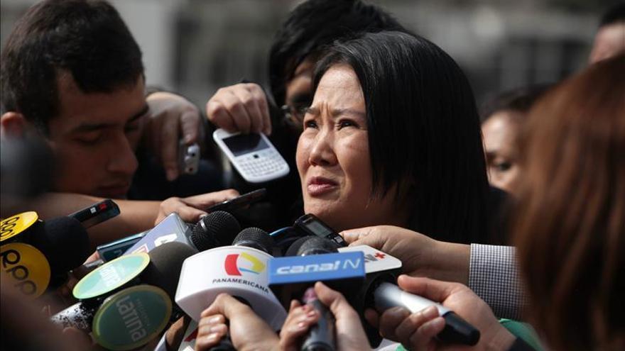 Keiko Fujimori sigue al frente en la intención de voto para la elecciones de 2016 en Perú