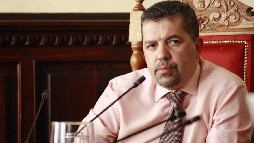 Juan José Cabrera Guelmes, portavoz del grupo Popular en el Ayuntamiento de Santa Cruz de La Palma.