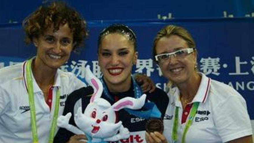 Anna Tarrés (derecha) fue destituida tras los Juegos de Londres. (EUROPA PRESS)