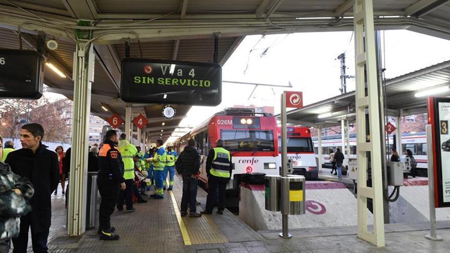 Cuatro heridos graves entre los 45 heridos en el accidente de tren en Alcalá