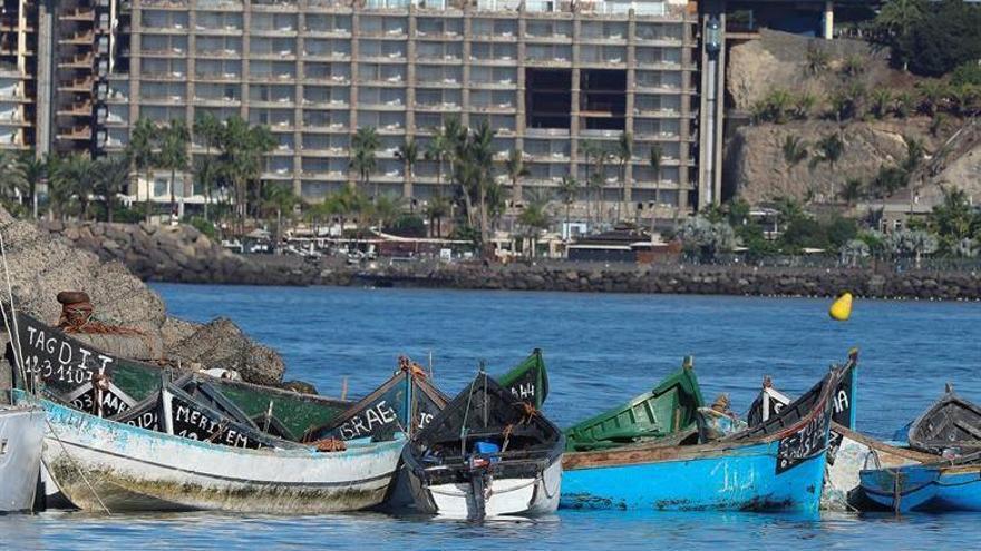 Cruz Roja derivará a unos 300 migrantes llegados a Gran Canaria a un nuevo complejo turístico en el sur de la isla