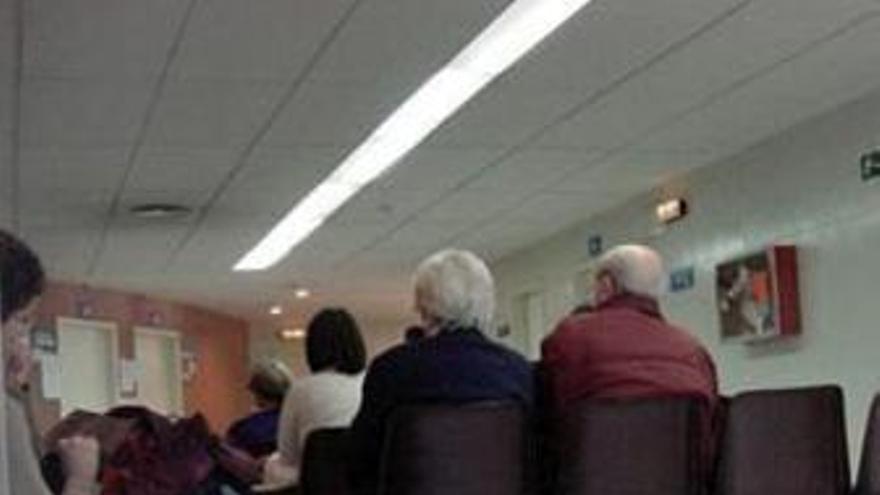 Sala de espera en un ambulatorio
