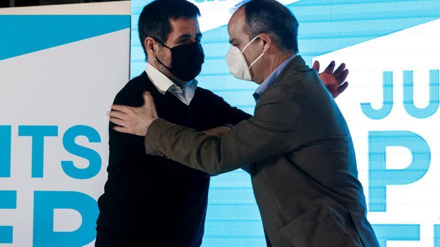 JxCat incluye a los indultados Jordi Sànchez y Turull en la mesa de diálogo