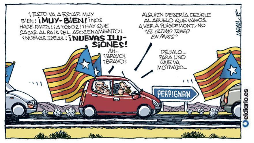Cita con Puigdemont