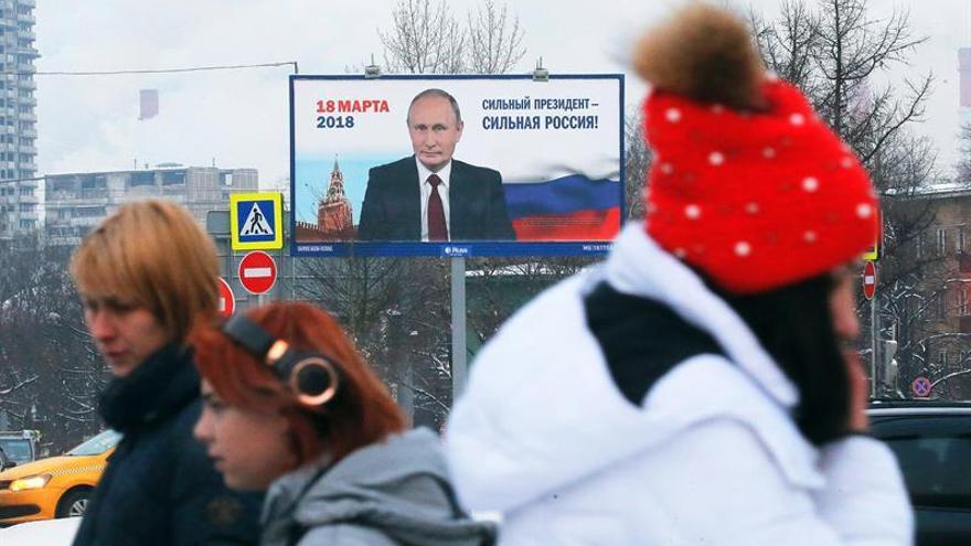 Rusia no invita a observadores del Consejo de Europa a las elecciones presidenciales