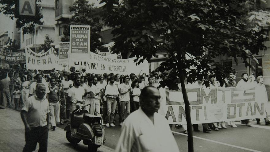 Manifestación Anti-OTAN.