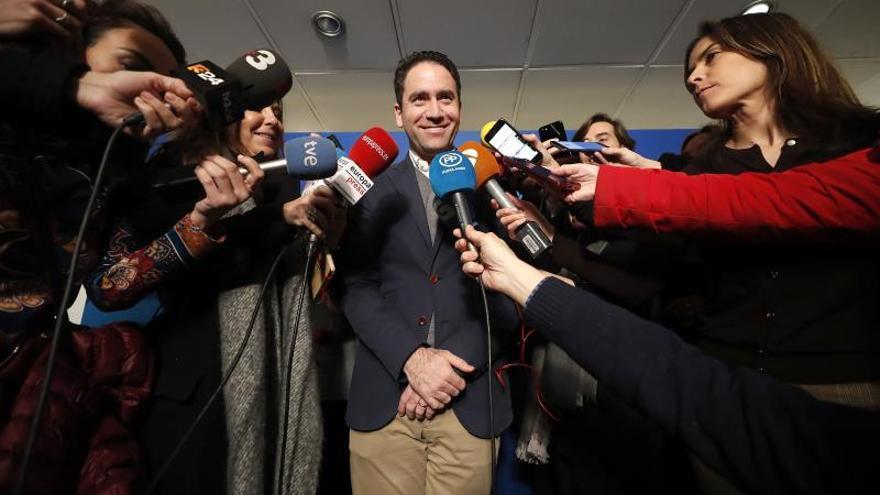 """El PP destaca el """"contraste"""" entre su unidad y """"lo que ocurre en Podemos"""""""