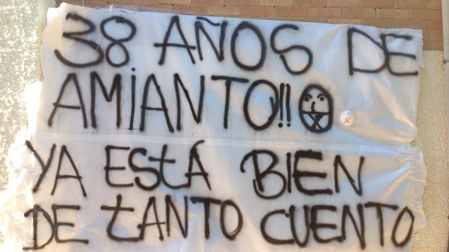 El alumnado del IES Manuel Tárraga reclama soluciones a la precariedad del centro