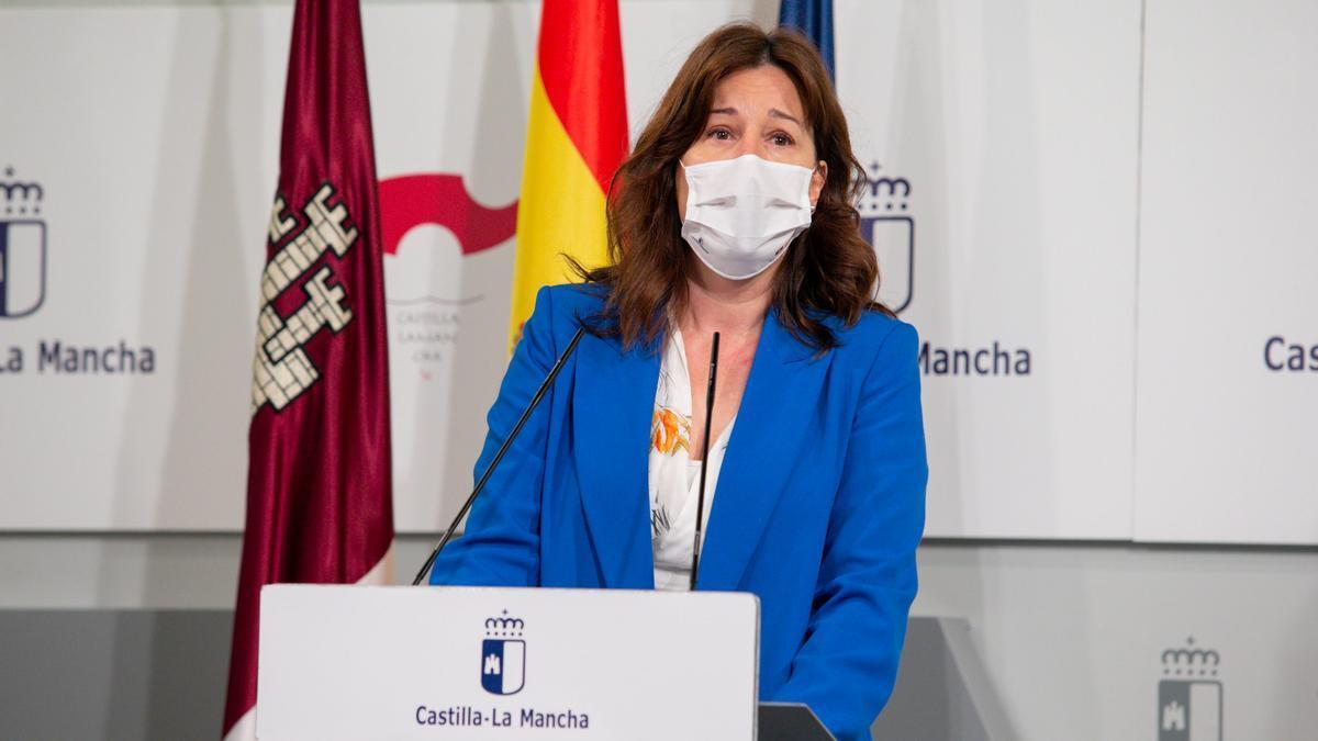 Blanca Fernández, portavoz del Gobierno Castilla-La Mancha
