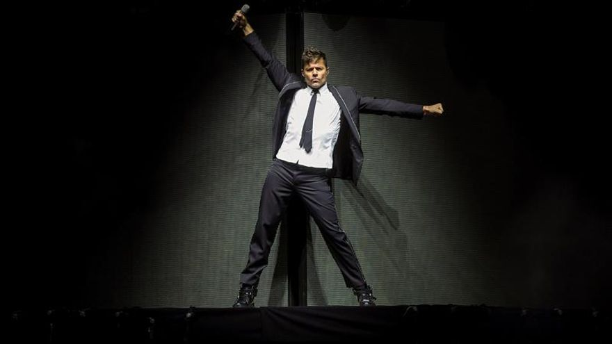 Ricky Martin desata la locura en su primer concierto en Europa de su gira One