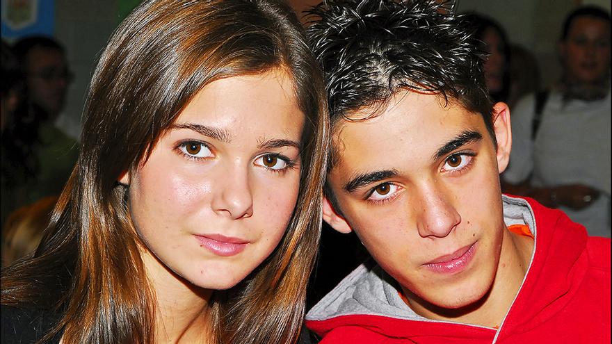Natalia Sánchez y Víctor Elías, en su etapa en 'Los Serrano'