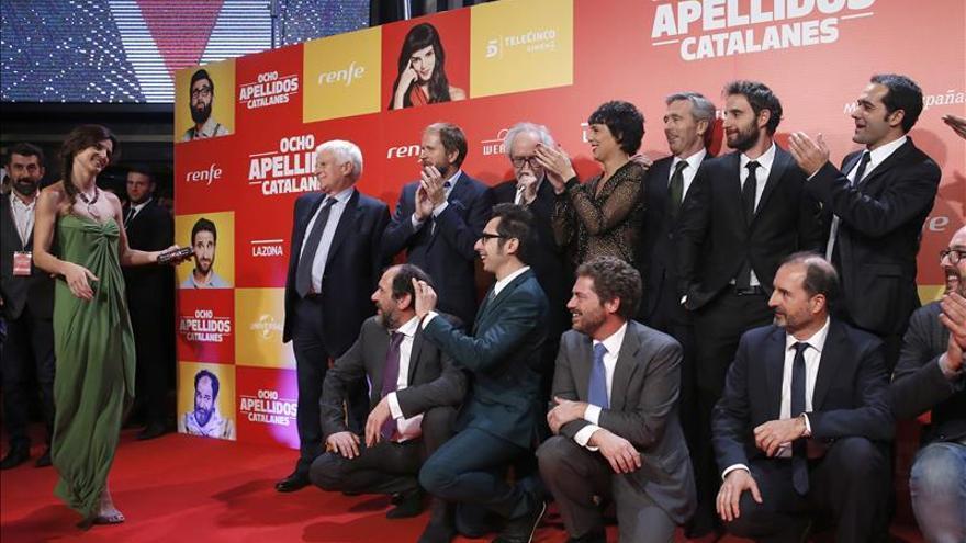 """""""Ocho apellidos catalanes"""" es ya el mejor estreno español del año"""