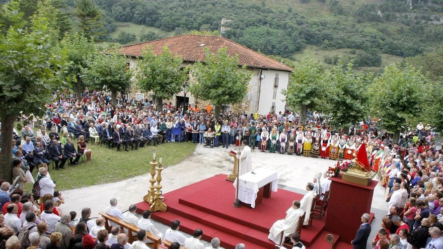 Cantabria celebra mañana la festividad de su patrona, la Bien Aparecida