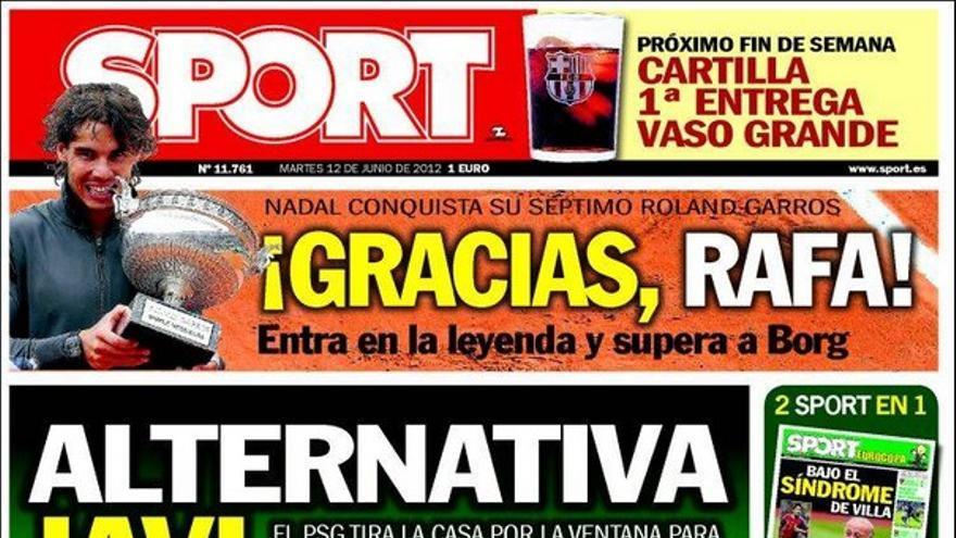 De las portadas del día (12/06/2012) #15
