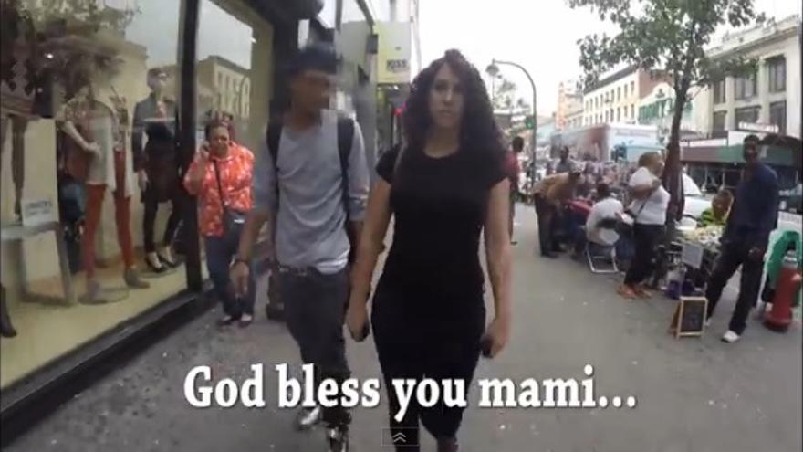 VÍDEO: Diez horas de acoso callejero en Nueva York