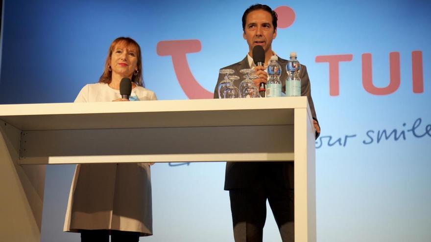 Presentación en Gran Canaria de los catálogos de verano del turoperador TUI.