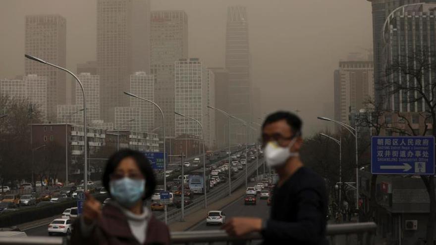 La contaminación en China supera la del año pasado tras vuelta a la actividad