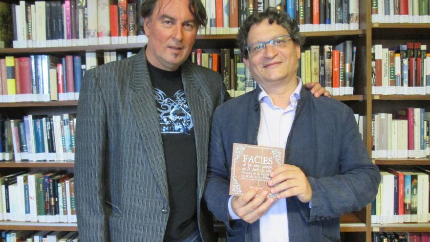 Carlos Catana (i) e Ignacio Pastor, este viernes. Foto: LUZ RODRÍGUEZ.