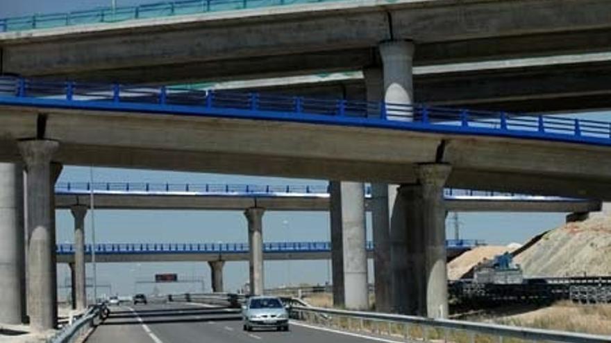 Imagen de archivo de una autopistas española.