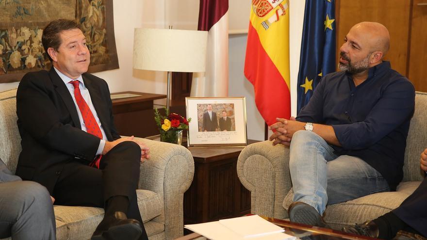 Reunión entre García-Page y García Molina el pasado 13 de julio