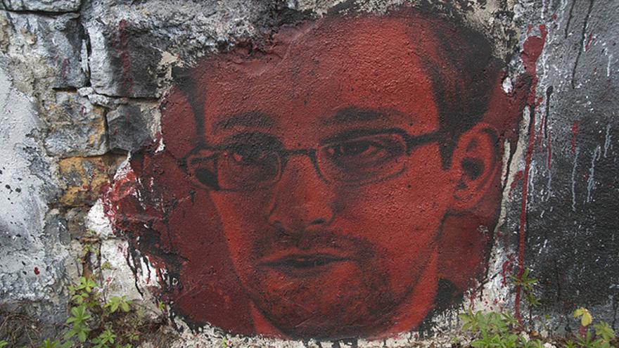 Este retrato de Edward Snowden, bajo licencia Creative Commons,  se ha hecho viral en la red
