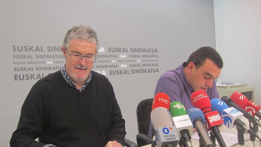 """ELA califica de """"golpista"""" a Confebask por """"intentar eliminar y tirar por tierra a un movimiento sindical"""""""