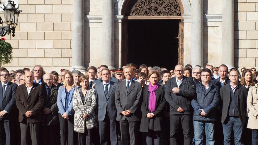 """Forcadell expresa su """"absoluta repulsa"""" por los atentados"""