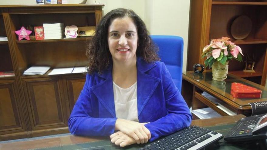 Jovita Monterrey es consejera insular de Asuntos Sociales.