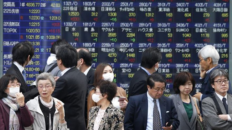 El Nikkei sube un 0,48 por ciento hasta los 17.331,98 puntos