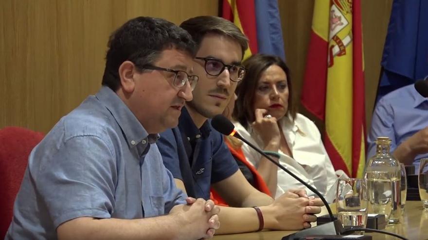 Pep Calero y Joan Sanchis, concejales de Compromís en Benigànim