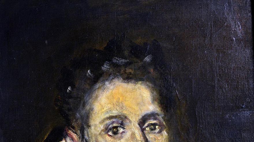 Copia de 'Cabeza de Hortensio Félix de Paravicino', obra original de El Greco