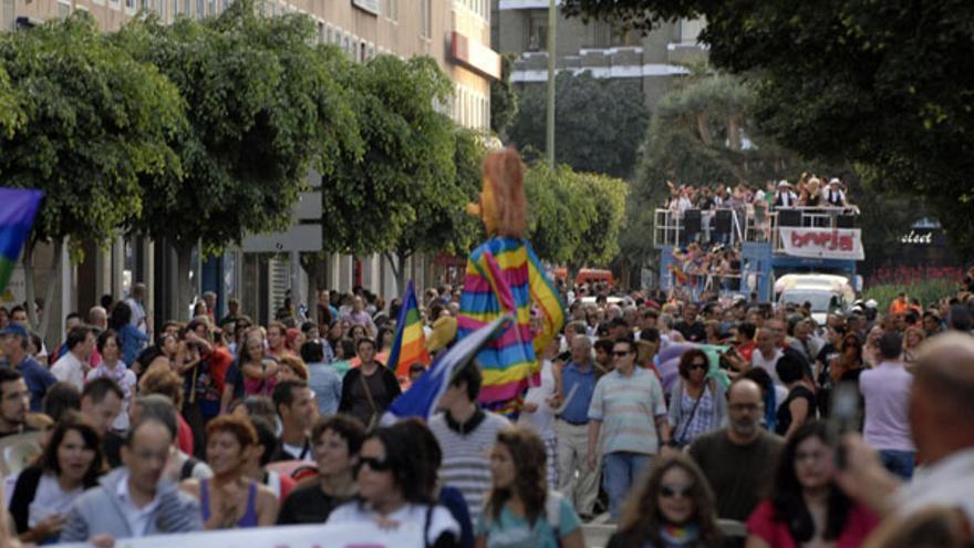 Manifestación en la capital grancanaria. (ACFI PRESS)