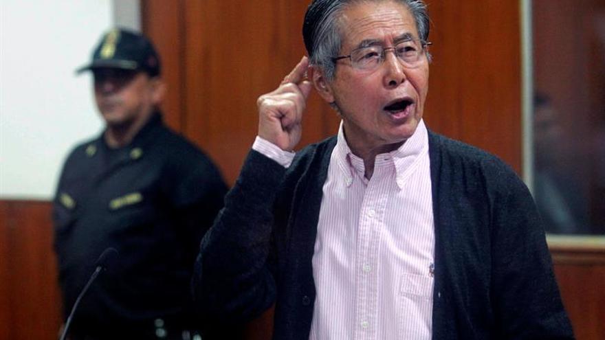 El Tribunal Constitucional rechaza el hábeas corpus de Fujimori, según los medios