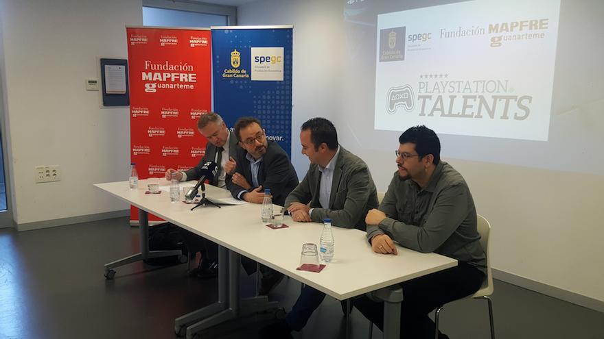 Inaugurado el 'Play Station Talents Games Camp' para respaldar al estudio de Gran Canaria en su lanzamiento internacional.