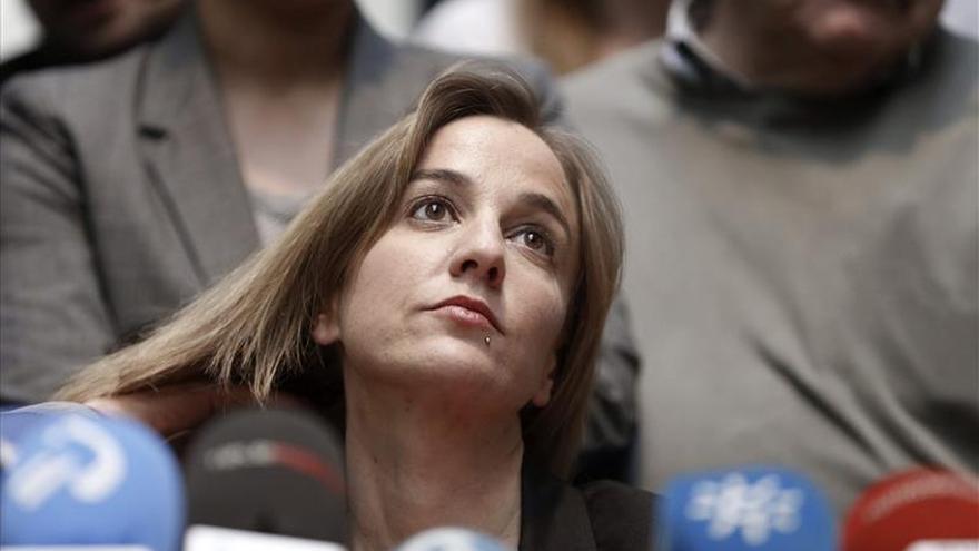 """Tania Sánchez abandona IU de Madrid """"porque la paz tenía un precio inaceptable"""""""