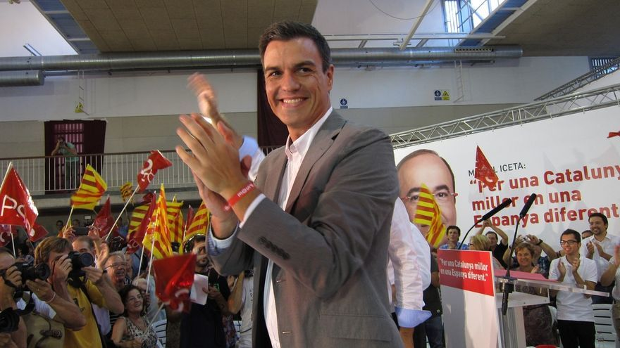 Pedro Sánchez desembarcará en Barcelona el 22 de abril en un gran acto arropado por Parlon y Hereu