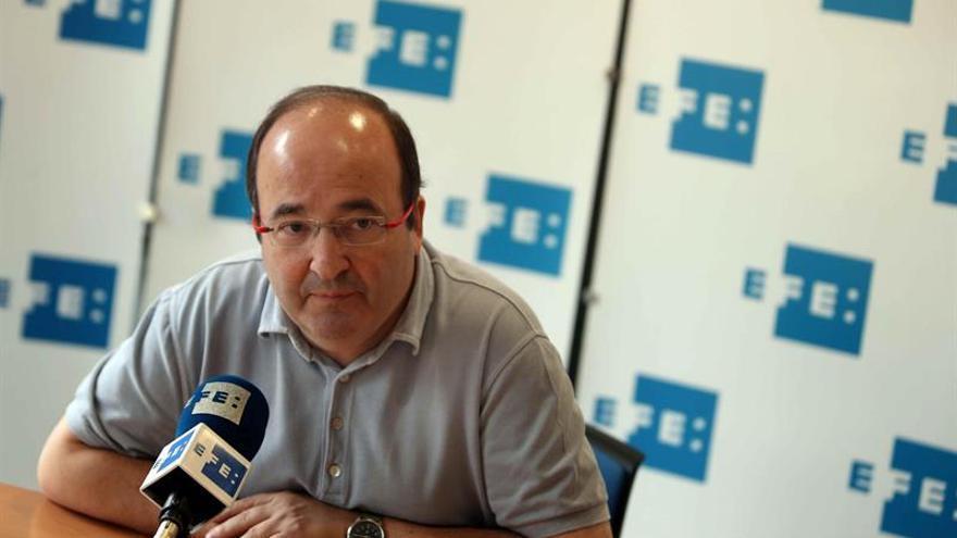 Iceta: El PSC abandonará el hemiciclo cuando se voten las leyes de ruptura